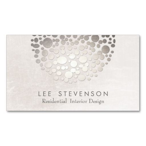 Modern Interior Designer Monochromatic Neutral Business Card Template This Great Design Is Available