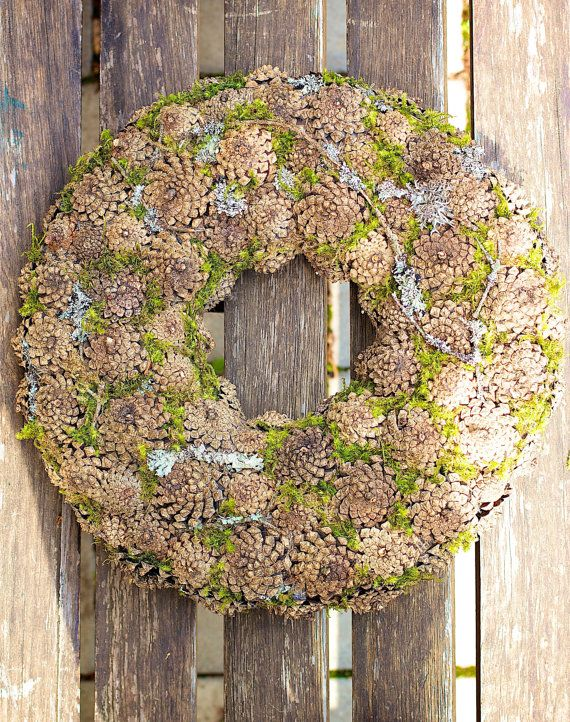 Advent Wreath Holiday Wreath Winter Wreath by CadeauDeLaNature