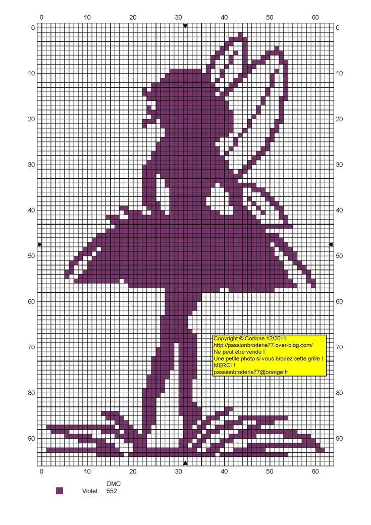 73 best f e fairy ange l gende point de croix cross stitch images on pinterest crossstitch. Black Bedroom Furniture Sets. Home Design Ideas