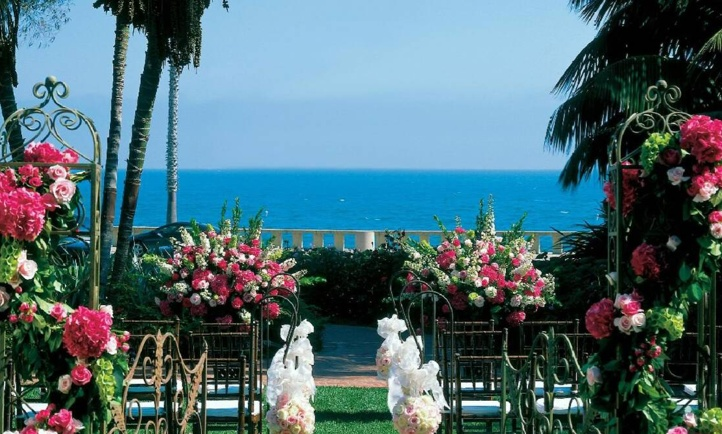 Wedding Location at Four Seasons Resort: The Biltmore Santa Barbara