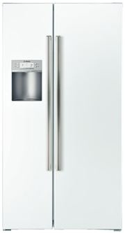 Energy Star refrigerator in white — good design potential for a midcentury kitchen
