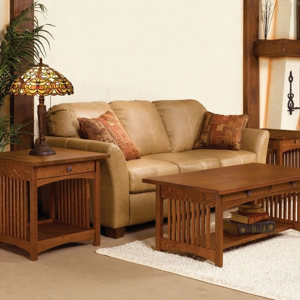 Mission Coffee Table And End Tables Woodworking Plan Set