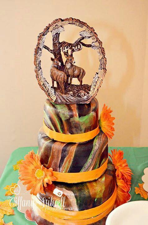 Camo Wedding Cake Cake Pinterest Camo Wedding Cakes Camo