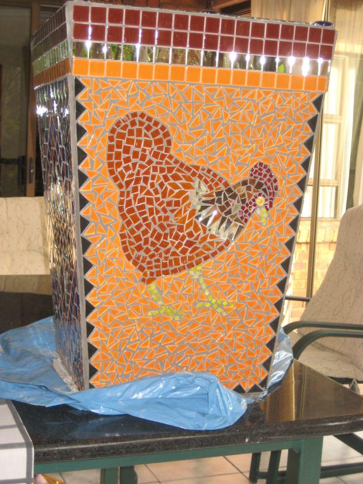 Mosaic flower pot 2