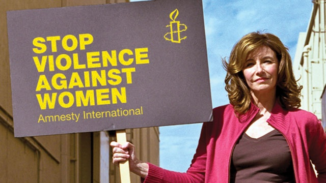 Mary Steenbergen would like to protect women the world over.