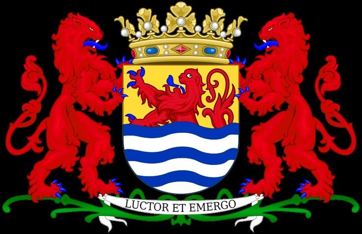 Het wapen van Zeeland.