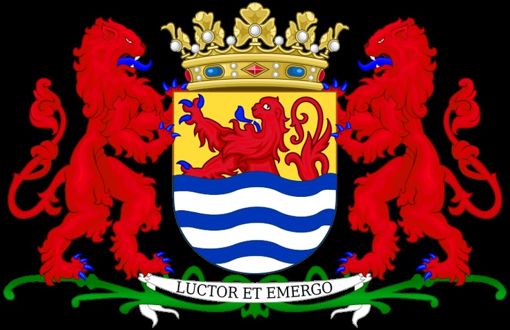 Zeeland coat of arms. Fierce!