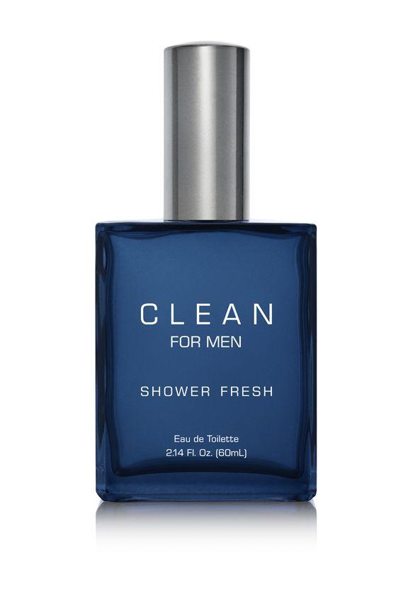 CLEAN Shower Fresh Men парфюмерная вода 60 мл. Этот свежий аромат дает ощущение бодрости после душа.  Чистые и освежающие ноты бергамота, лимона, чабреца, мяты, черного чая и кедра.