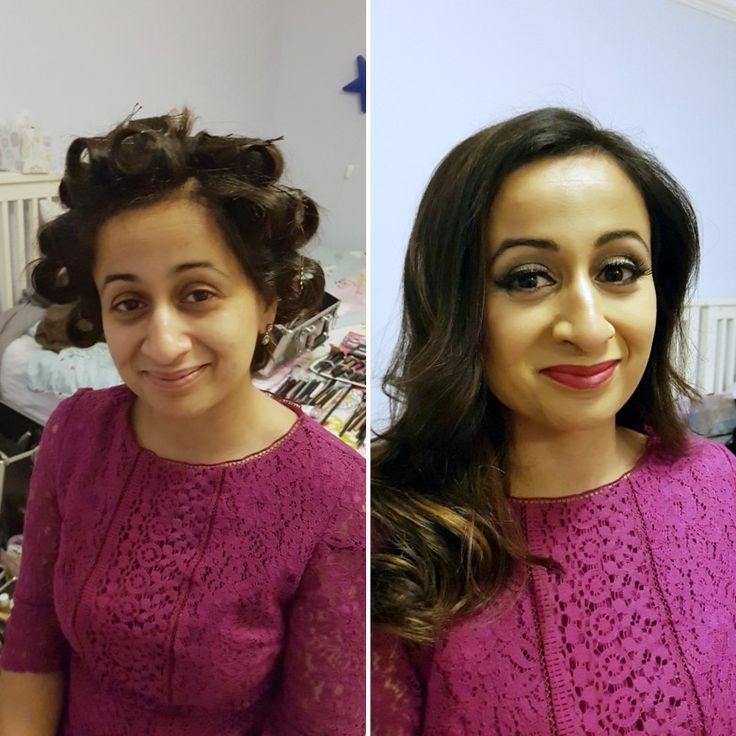 Hair and Makeup by me 40th Birthday evening glam