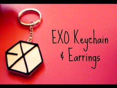 EXO Keychain & Earrings