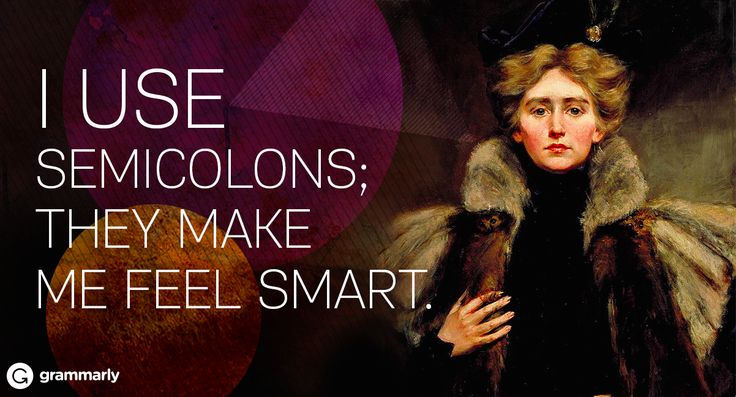 Semicolons make a lot of writers nervous. Do you use them like commas or periods? The mark itself is made up of a period on …