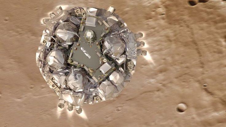Schiaparelli: Esa gives update on Mars crash investigation