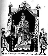 """Matilda of Tuscany (Italian: Matilde, Latin: Matilda, Mathilda) was an Italian noblewoman, the principal Italian supporter of Pope Gregory VII during the Investiture Controversy. She is one of the few medieval women to be remembered for her military accomplishments. She is sometimes called la Gran Contessa (""""the Great Countess"""") or Matilda of Canossa after her ancestral castle of Canossa."""