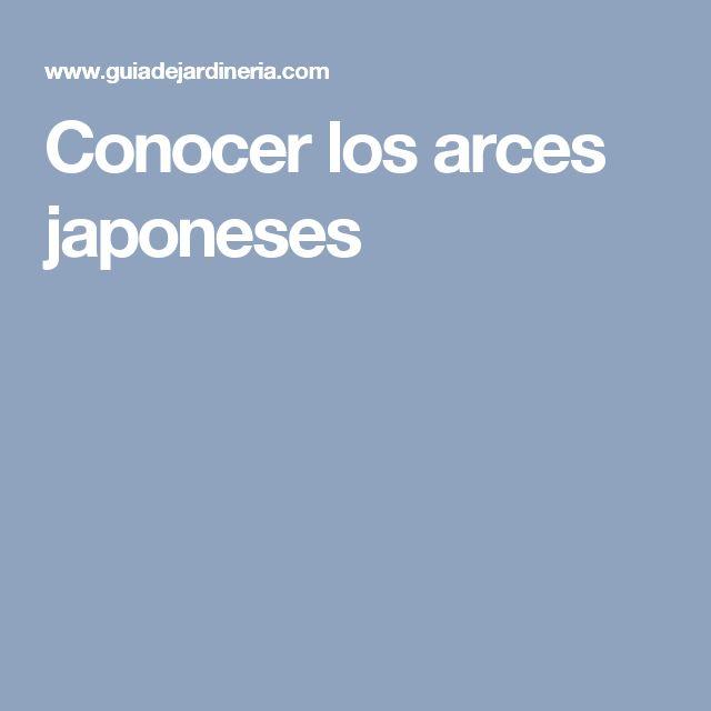 Conocer los arces japoneses