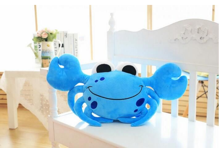 travel LOVELY modern TOFOR KIDS FLOOR FUNNY CRAWLING CRAB CUSHION chinese heart hugging PLUSH TOY CUSHIONS