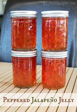 Peppered Jalapeno Jelly Recipe
