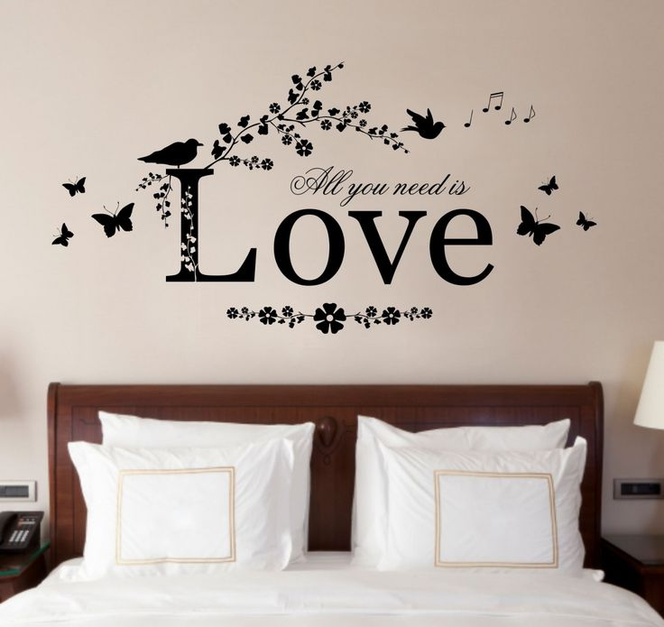 Because Someone We Love Is In Heaven Quote Vinyl Wall Art Sticker Decal Mural Bedroom Lounge Home Wall Decor