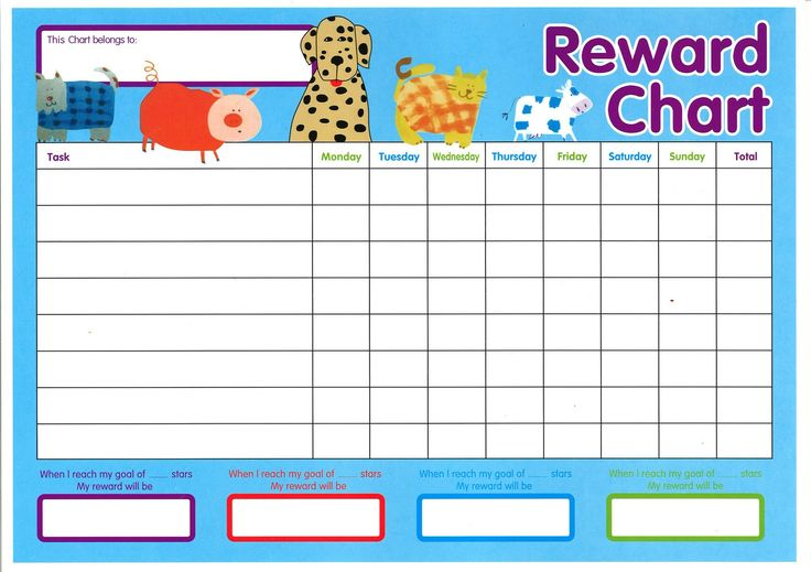7 best images about kids rewards system on pinterest for Star chart for kids template