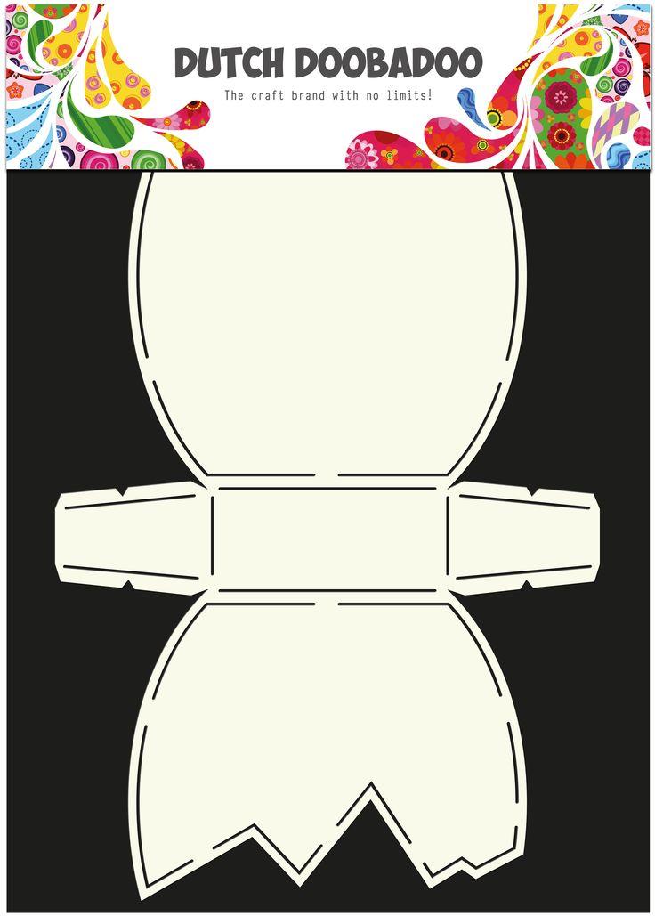 470.713.597 Dutch Doobadoo Card Art Paasei