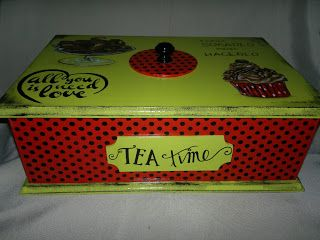 El Faro De La Libélula: Caja de té