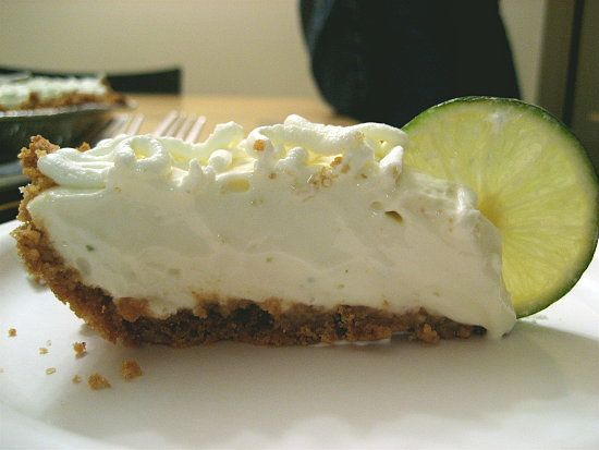 Lime Tart: A twist on the key lime pie, this recipe combines lime juice with cream cheese and sweetened condensed milk. The mixture is poured into a graham cracker crust and topped with sweetened crème fraîche. Straight from the fridge, it's a refreshingly divine dessert.
