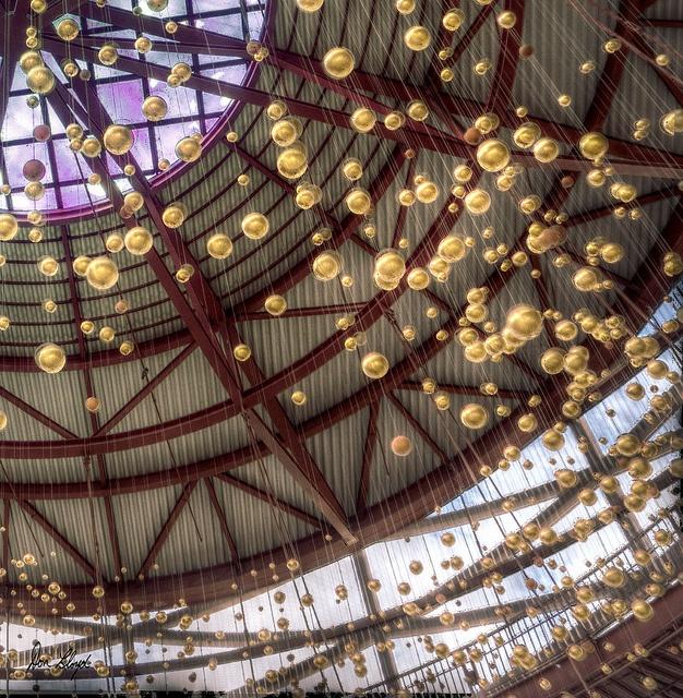 Shiny balls    California Science Center, Exposition Park, Los Angeles. Downtown L.A Adjacent :)
