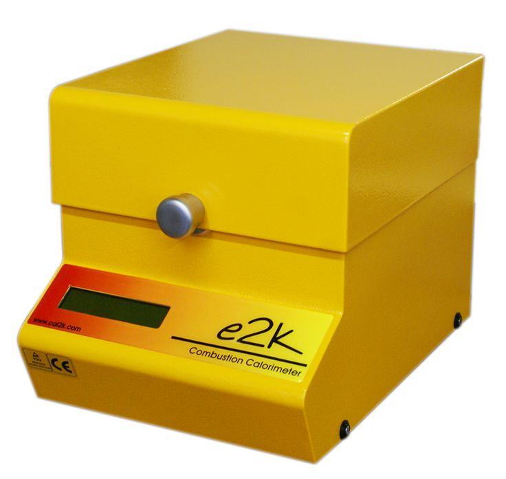 E2K Bomb Calorimeter System - used for determining the calorific value of a sample, i.e. coal analysis
