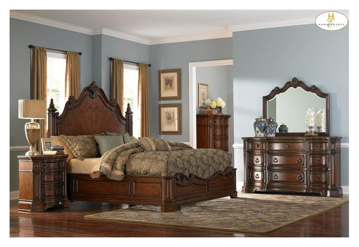 Montvail Eastern King Size Bed Master bedroom set