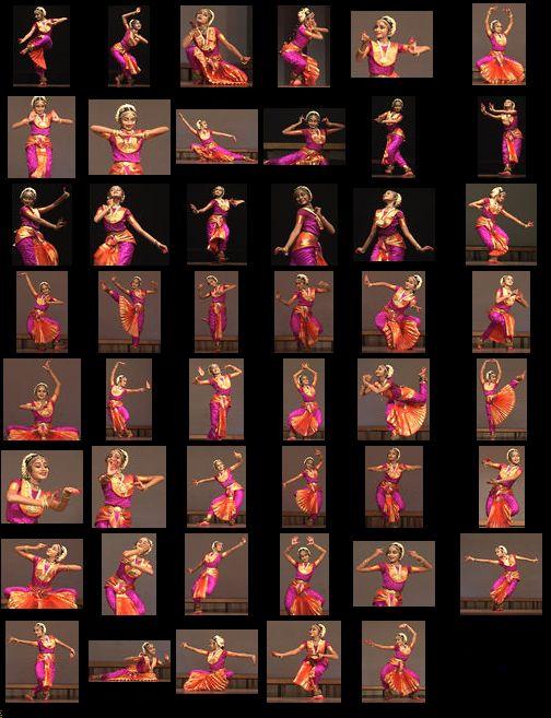bharatanatyam poses