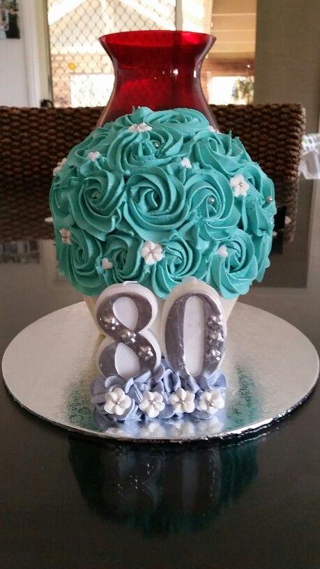 My nans 80th birthday cake