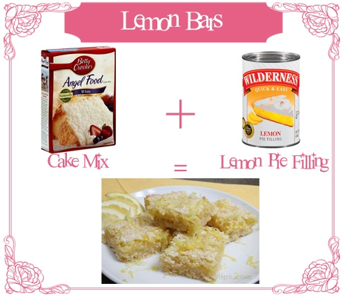 Two Ingredient Lemon Bars: Lemon Bars, Cookie Bars, Ingredient Recipes, Cookies Bars, Sweet Treats, Bars Sooo Easy, Sweet Tooth, Ingredient Lemon
