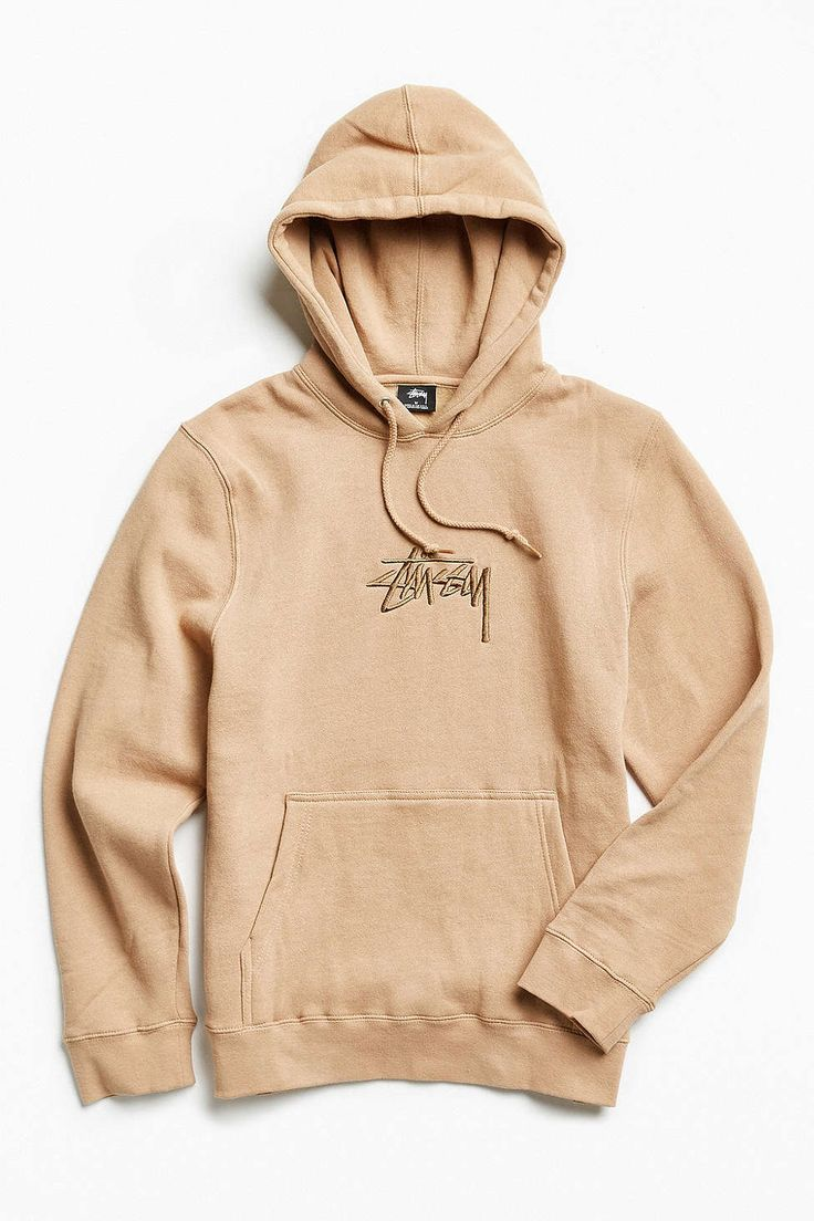 Stussy Stock Embroidered Hoodie Sweatshirt Trendy