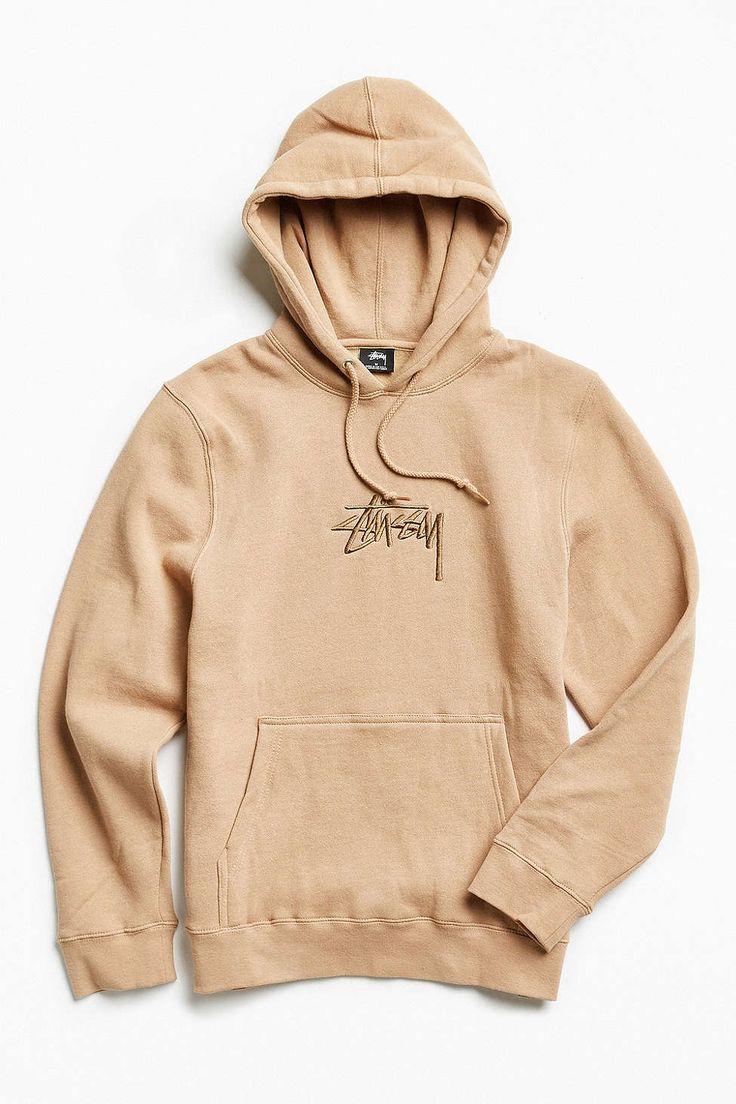 Stussy Stock Embroidered Hoodie Sweatshirt