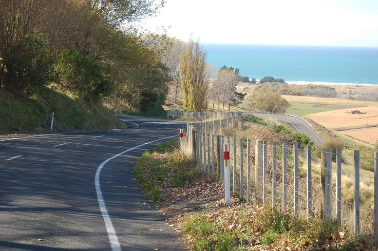 The road to Waimarama, Hawkes Bay