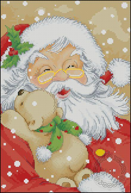 Gallery.ru / Санта Клаус - Платные - viya
