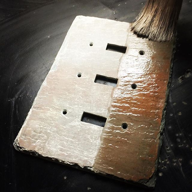 light switch covers by www.slatewallplates.com ...