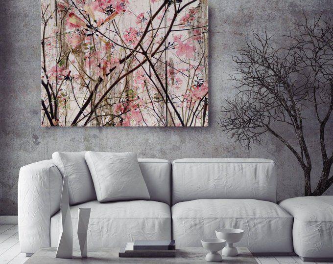 Shabby Chic Floral Canvas Wall Art Peony Canvas Wall Art Etsy Floral Wall Art Canvases Chic Art Prints Shabby Chic Art