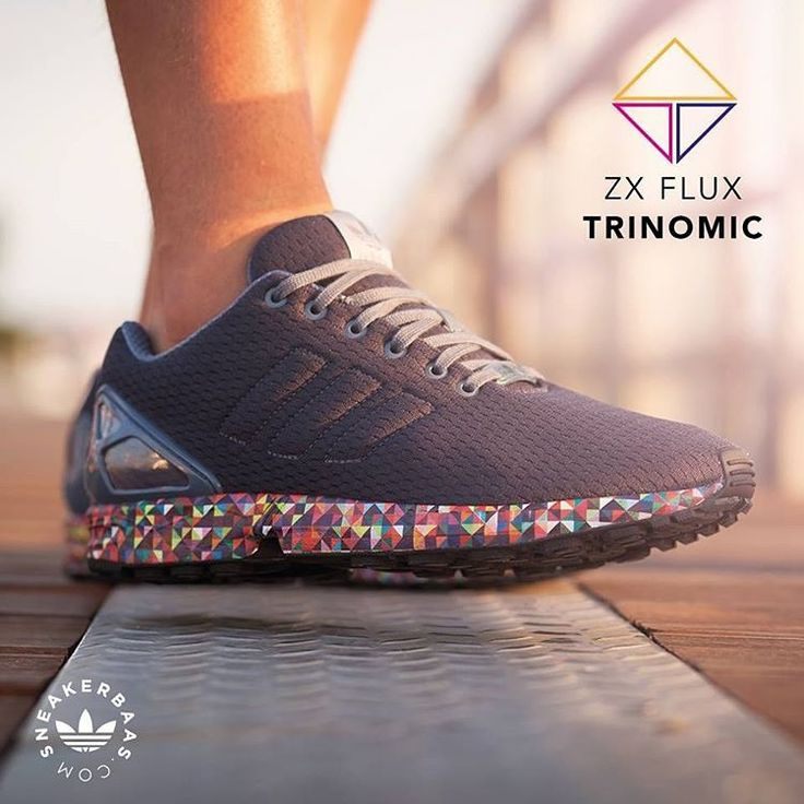 """#adidas #zxflux #adidasoriginals #originals #multicolor #sneakerbaas #baasbovenbaas  Adidas ZX Flux """"Multicolor Trinomic"""" - The Adidas ZX Flux is a Low-profile and great looking sneaker with a comfortable upper and technical Adidas Torsion sole.  Now online available   Priced at 89.99 EU   Men Sizes 39 - 47 EU"""