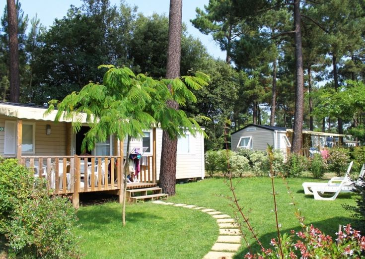 Mobil-Home GRAND FAMILY ESPACE PRIVILEGE - 6 personnes - Camping Palmyre Loisirs