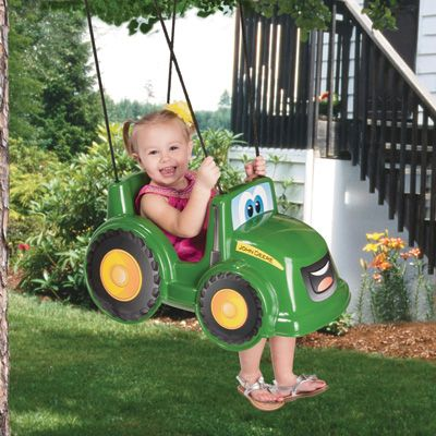John Deere Johnny Toddler Swing — For Infants and Toddlers