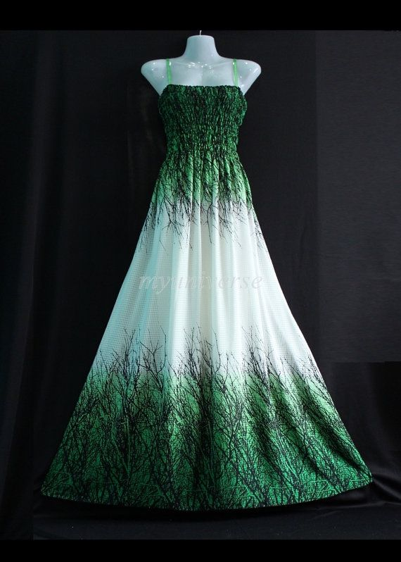 Maxi Dress Bridesmaid Dress Plus Size Prom Long Evening Beach Party Dreamy Collection Green