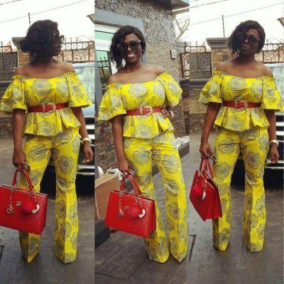 classy-ankara-styles-nigerian-wedding-2-piece-off-shoulder-trouser
