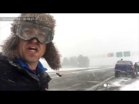 (adsbygoogle = window.adsbygoogle || []).push();       (adsbygoogle = window.adsbygoogle || []).push();   Dec 08, 2016; 4:40 PM ET  Along Interstate-90, near Dunkirk, New York, lake effect snow creates whiteout conditions. Storm chaser and extreme meteorologist Reed Timmer was... #Weather #videos