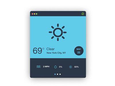 SimpL Weather Widget