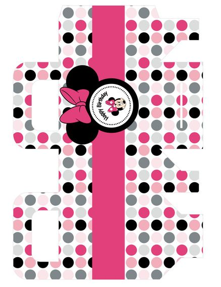 free minnie mouse printable bag