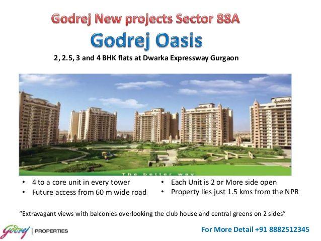 Godrej new project sector 88a Gurgaon by Mnc Propmart via slideshare