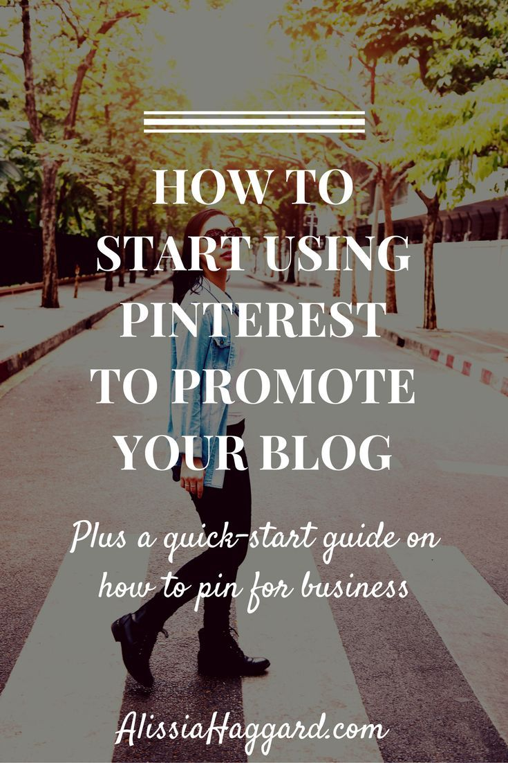 This guide on How To Start Using Pinterest To Promote Your Blog includes tips for new bloggers on how to get started with Pinterest. Plus, tips on how to best share your posts.