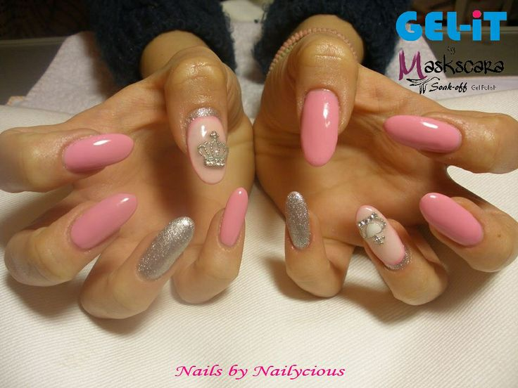 Nails by Nailycious with 3-in-1 Builder Gel and GEL-iT UV LED Soak off Gel Polish