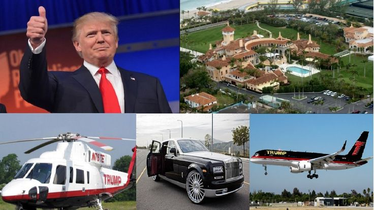 U.S President Donald Trump's House  Cars  Private Plane  Helicopter .  Donald John Trump is an American businessman television producer author politician and the Republican Party nominee for President of the United States in the 2016 election. Wikipedia Born: June 14 1946 (age 70) Queens New York City New York United States Spouse: Melania Trump (m. 2005) Marla Maples (m. 19931999) Ivana Trump (m. 19771992) Education: Wharton School of the University of Pennsylvania (1968) more Children…
