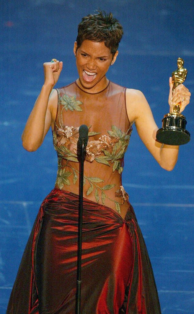 Look Back at the Moment Halle Berry Made Oscars History
